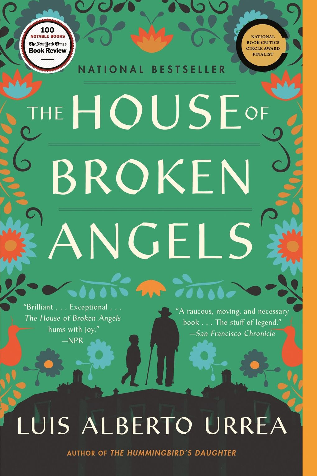 """""""The House of Broken Angels"""" by Luis Alberto Urrea. (Little, Brown and Company)"""