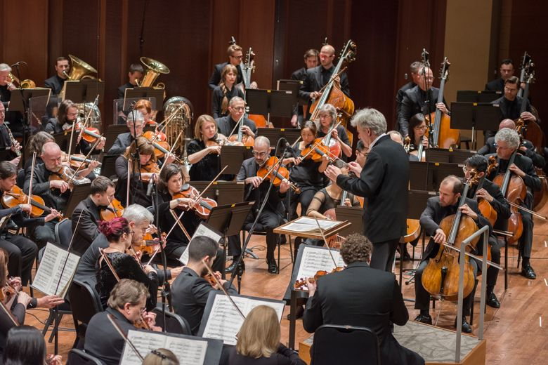 Seattle Symphony has instituted furloughs due to the coronavirus pandemic. Its 88 musicians have agreed to go on temporary furlough between April 13 and June 1, and around 100 other non-musician employees are also on standby. (Carlin Ma)