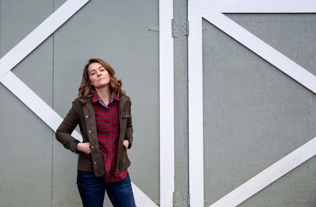 Brandi Carlile at her Maple Valley home in 2018. (Courtney Pedroza / The Seattle Times)