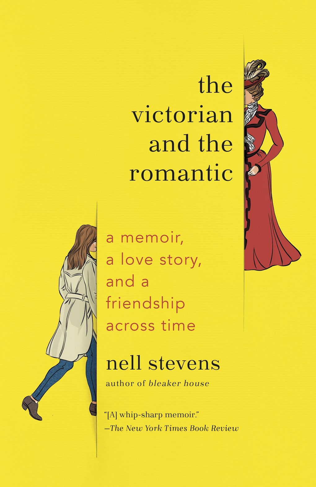 """""""The Victorian and the Romantic"""" by Nell Stevens. (Penguin Random House)"""