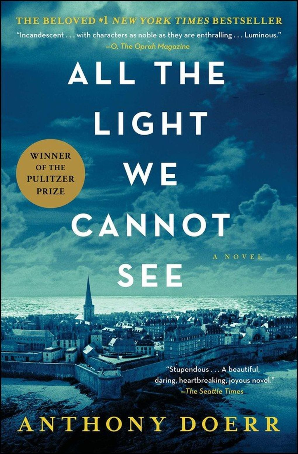 """""""All the Light We Cannot See"""" by Anthony Doerr. (Simon & Schuster)"""