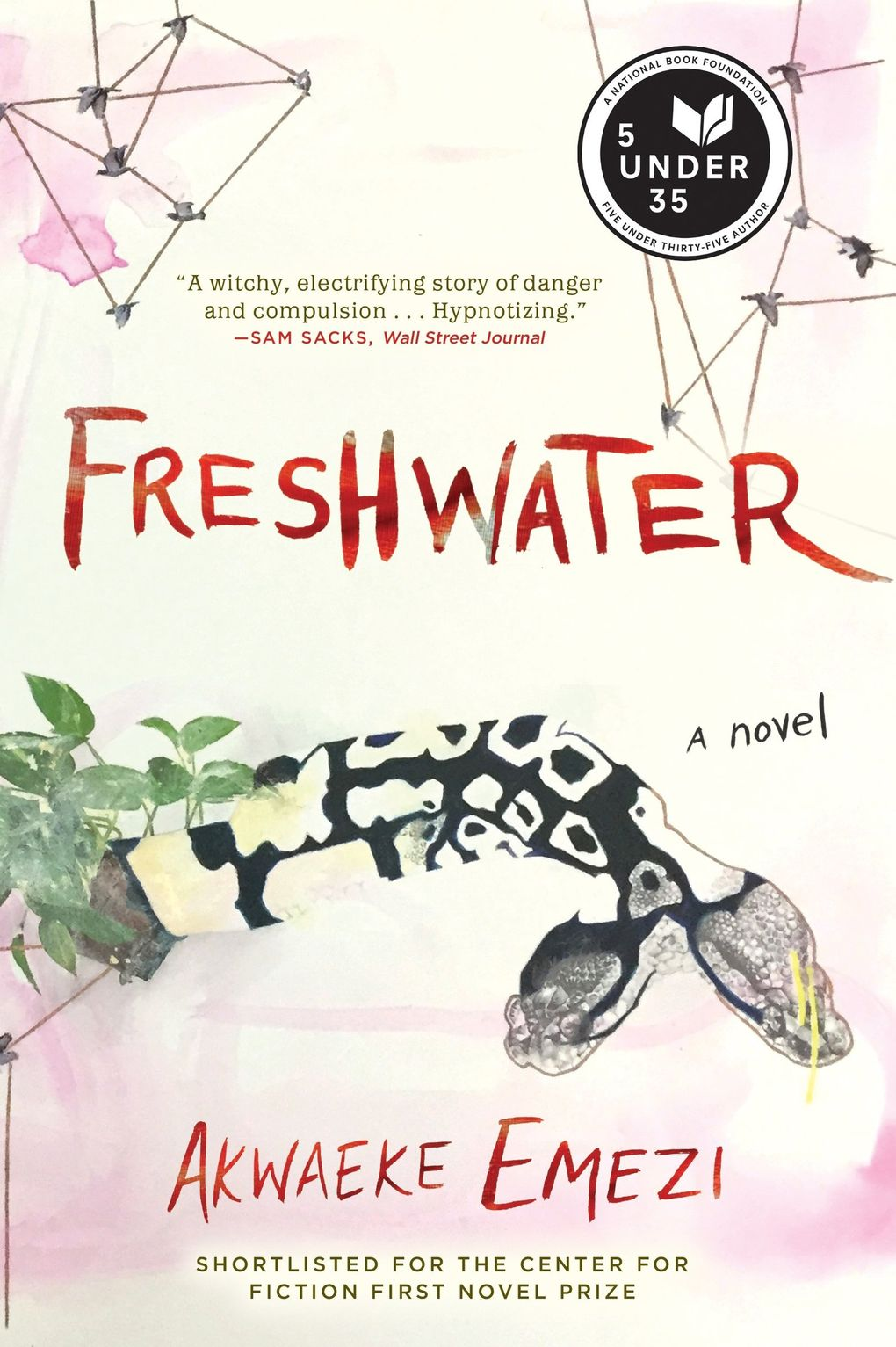 """Freshwater"" by Akwaeke Emezi. (Grove Atlantic)"