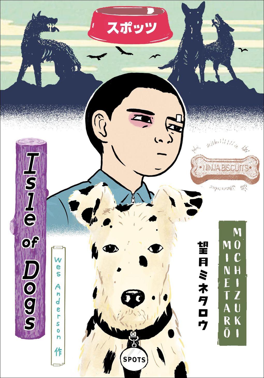 """""""Isle of Dogs"""" by Minetaro Mochizuki. (Penguin Random House)"""