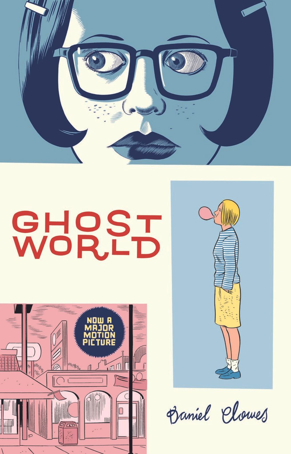 """""""Ghost World,"""" with cover by Daniel Clowes, is one of the graphic novels published by Fantagraphics Books. (Courtesy of Fantagraphics Books)"""