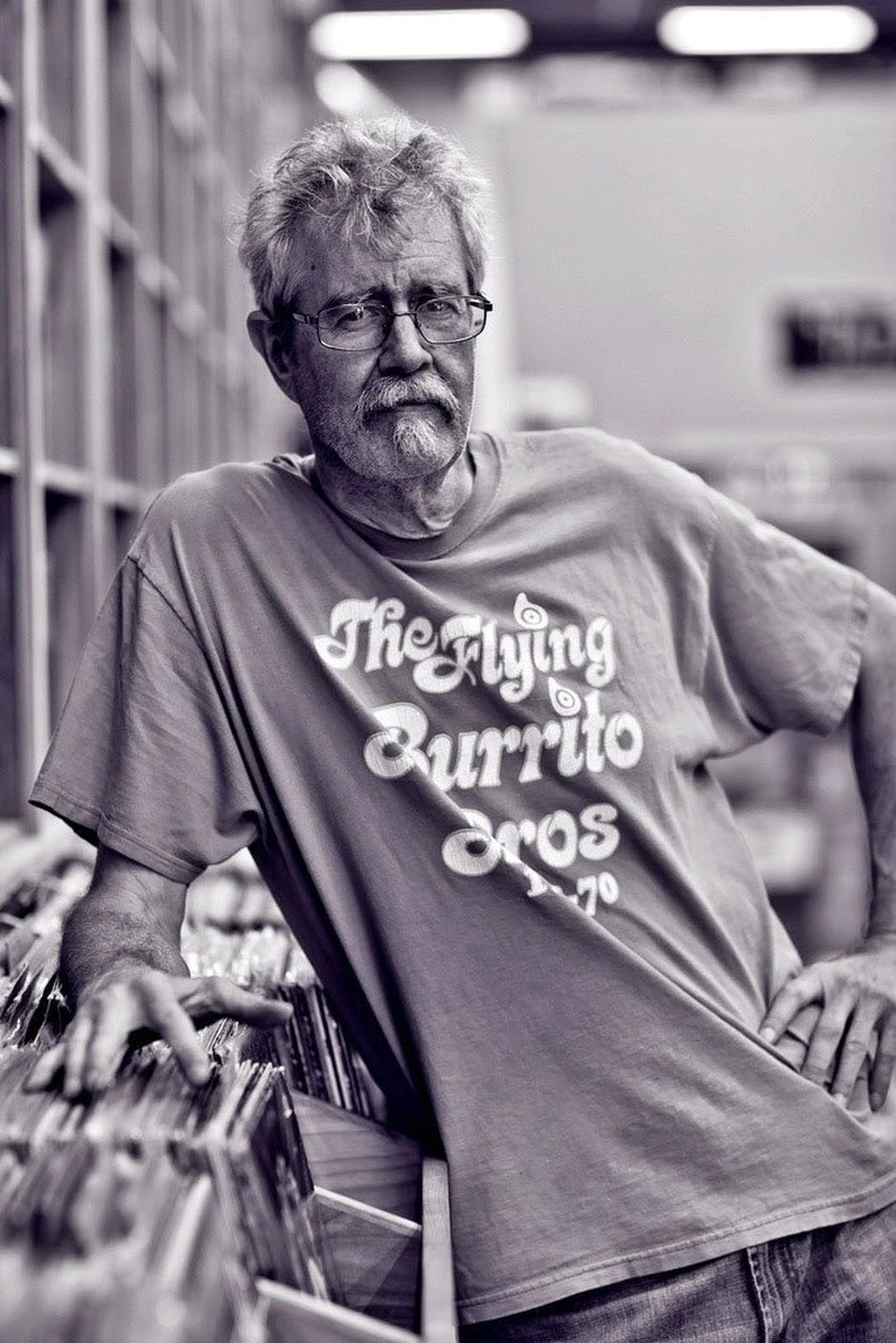 Dave Voorhees, owner of Bop Street Records in Ballard. (Courtesy of Dave Voorhees)