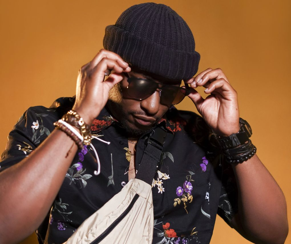 """After finding success as an audio engineer and behind-the-scenes songwriter, Tacoma's Blakk Soul released his debut album """"Take Your Time"""" this spring. (Mia K.)"""