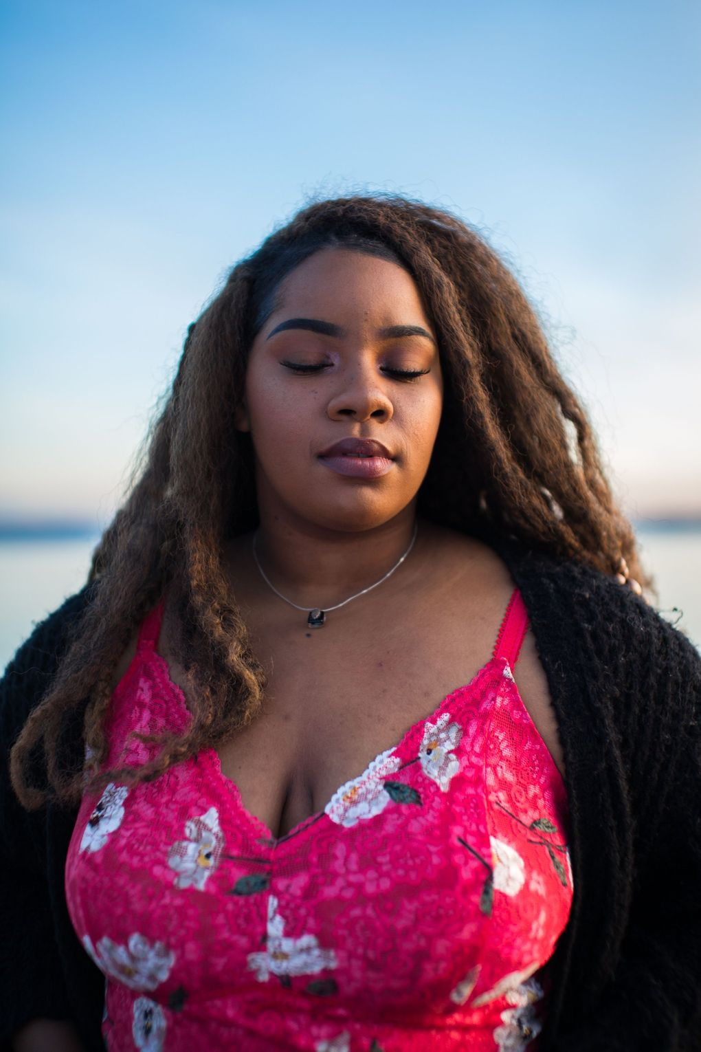 A self-taught audio engineer by day, R&B singer/producer Talaya. helps other artists with their projects while also working on her own music. (Rolando Robles)