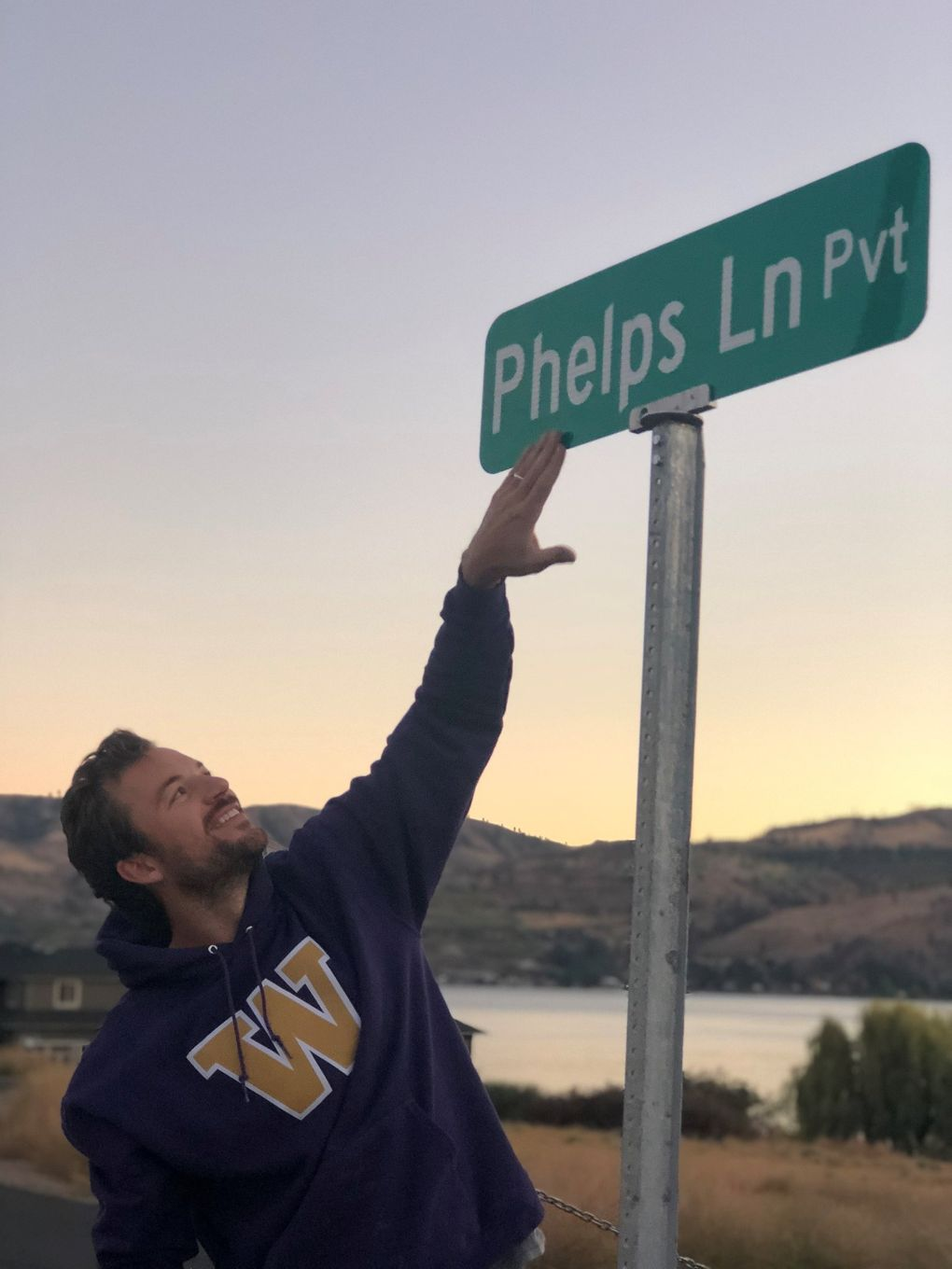 Former UW midfielder Taylor Cochran used to host his Husky teammates for gatherings at his family's cabin on Lake Chelan. The Cochran family has since officially named the street leading to their cabin after former teammate Daniel Phelps, who died of sudden cardiac arrest in 2015.  (Courtesy of / Taylor Cochran)