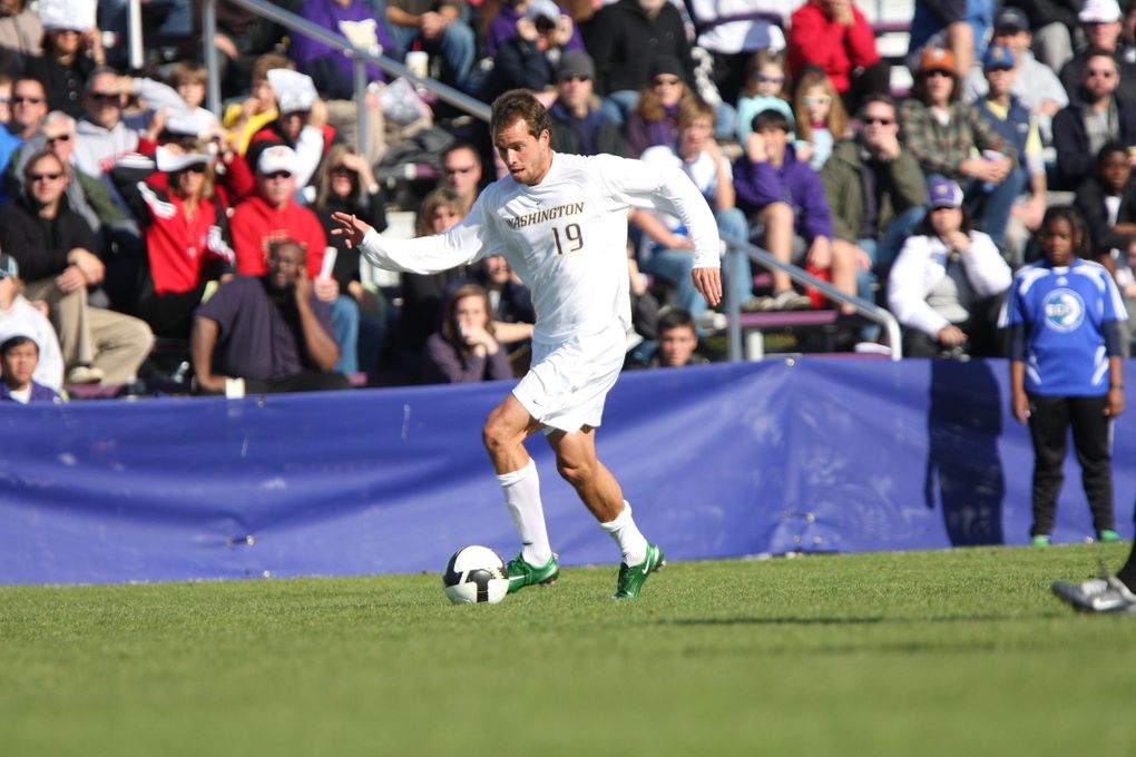 Daniel Phelps, who played soccer at UW from 2006 to 2009, died of sudden cardiac arrest in 2015. His Husky teammates have since started an annual charity golf tournament — the DP Open — in Daniel's name to raise money for sudden cardiac death awareness.  (Courtesy of / UW Athletics)
