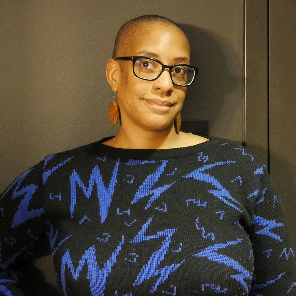 """Sharlese Metcalf, KEXP's education and community engagement manager and host of """"Mechanical Breakdown.""""(Courtesy of KEXP)"""