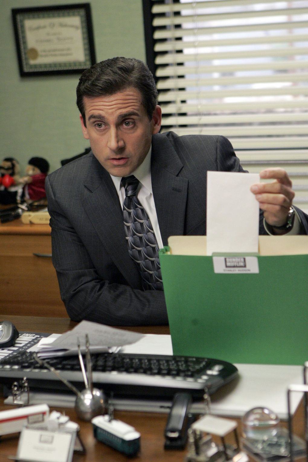 """Have you found yourself watching """"The Office"""" reruns since the pandemic began? There's a reason for that: familiarity. (Chris Haston / The Associated Press, file)"""