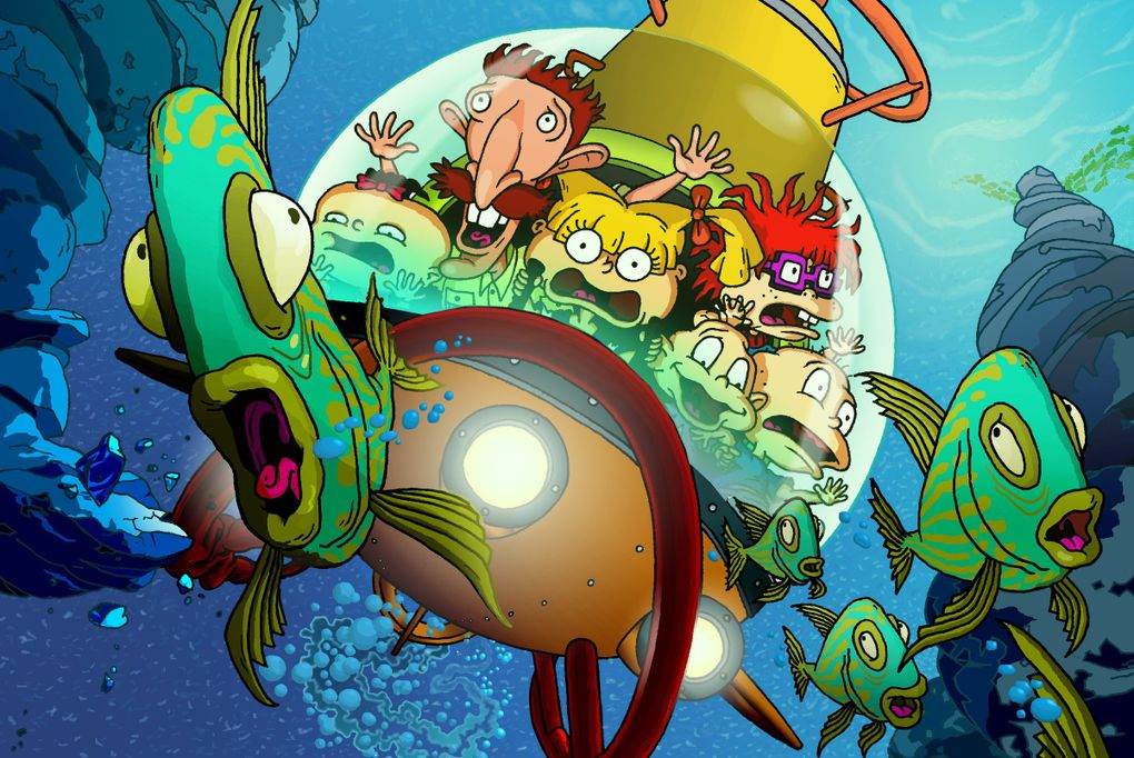 """""""The Wild Thornberrys"""" and """"Rugrats"""" were a core part of a golden age of Nickelodeon cartoons in the 1990s. (Nickelodeon)"""