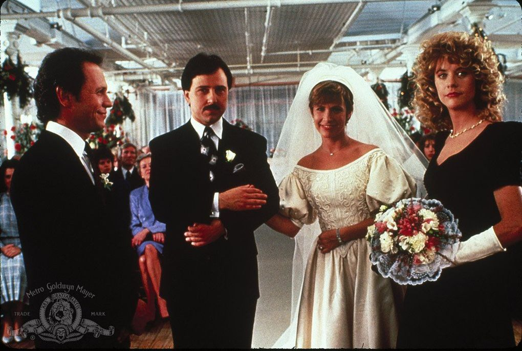 "Meg Ryan, Billy Crystal, Carrie Fisher and Bruno Kirby in ""When Harry Met Sally…"" (Metro-Goldwyn-Mayer Studios Inc.)"