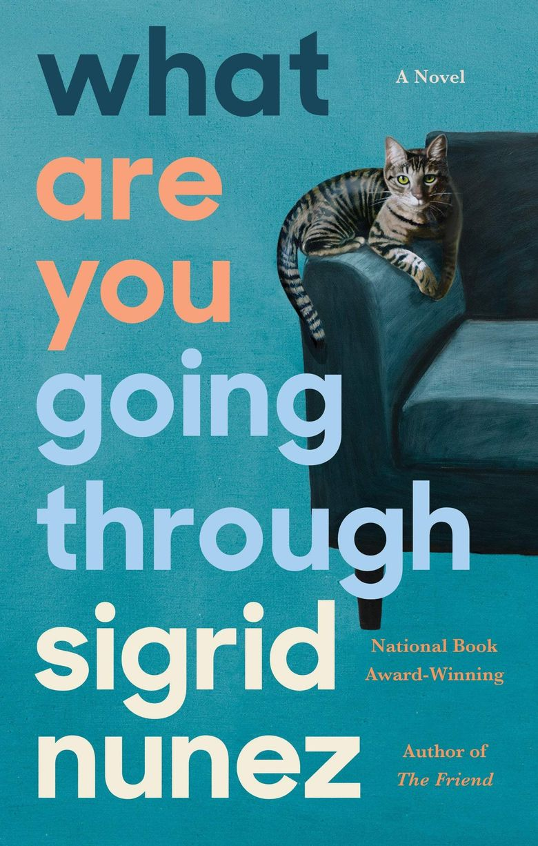 """""""What Are You Going Through"""" by Sigrid Nunez (Riverhead Books)"""