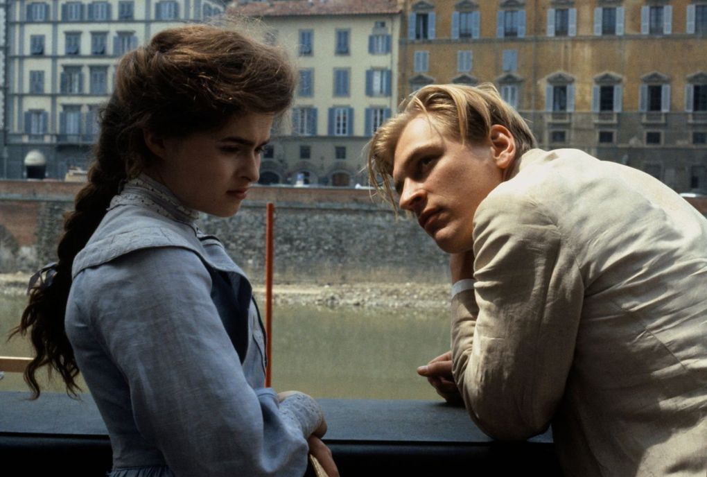 """""""A Room with a View,"""" based on the E.M. Forster novel, is perfectly cast. Helena Bonham Carter and Julian Sands star. (Courtesy of the Criterion Collection)"""
