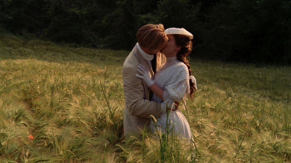 """The 1985 Merchant-Ivory film """"A Room with a View,"""" starring Julian Sands and Helena Bonham Carter, includes one of cinema's most rapturous moments. (Courtesy of the Criterion Collection)"""