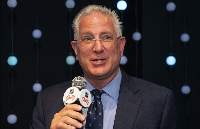 Seattle Kraken president and CEO Tod Leiweke is joining the Sounders ownership group. (Mike Siegel / The Seattle Times)