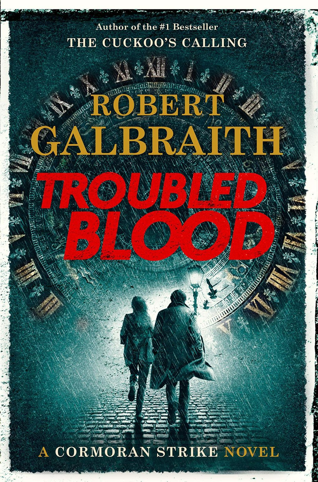 """""""Troubled Blood"""" by J.K. Rowling, writing under the pseudonym Robert Galbraith. (Mulholland Books)"""