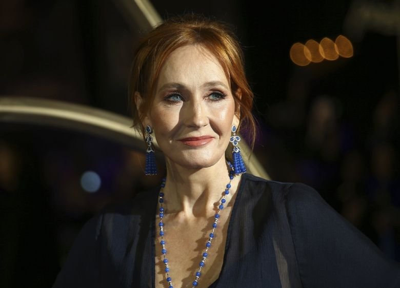 """Author J.K. Rowling, whose latest book is """"Troubled Blood,"""" written under the pseudonym of Robert Galbraith. (Joel C Ryan / Invision / The Associated Press)"""