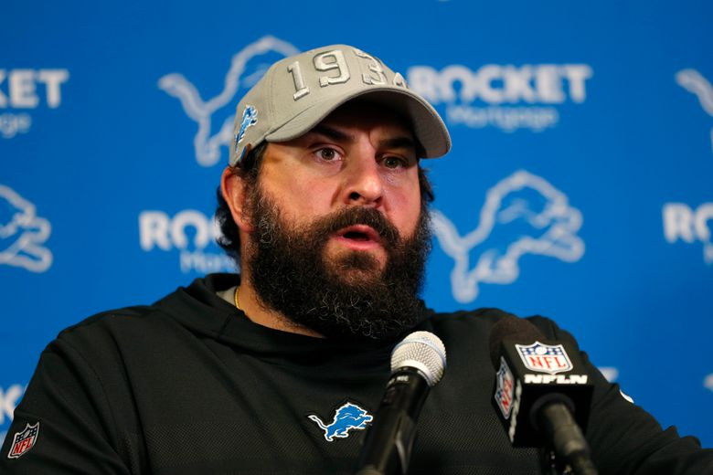 FILE – Detroit Lions head coach Matt Patricia speaks during a news conference after an NFL football game against Minnesota Vikings, Sunday, Dec. 8, 2019, in Minneapolis. The heat is on — and the games haven't even kicked off yet. That's life in the NFL for some coaches who enter the regular season knowing they need to guide their squads through what will be a most unusual regular season and at least keep them in playoff contention into December. (AP Photo/Bruce Kluckhohn, File)