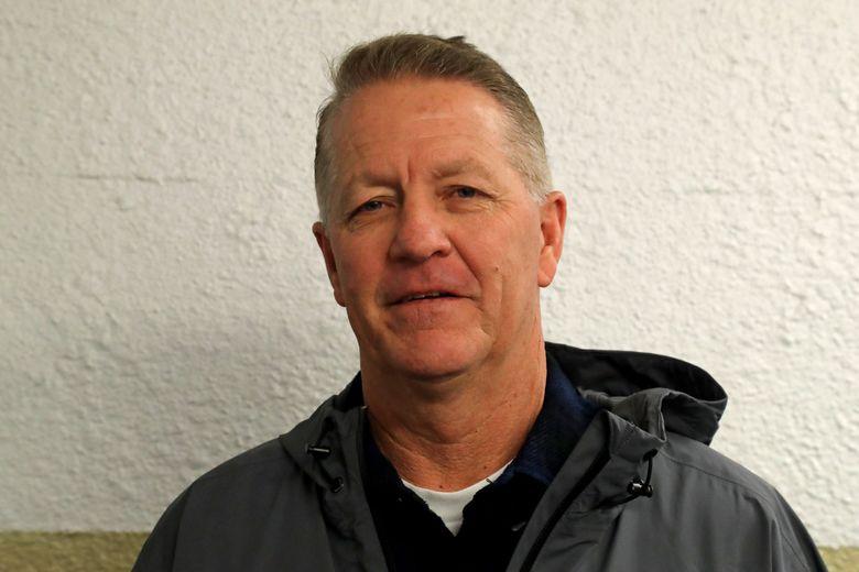 University of Washington baseball coach Lindsay Meggs. (Greg Gilbert / The Seattle Times)