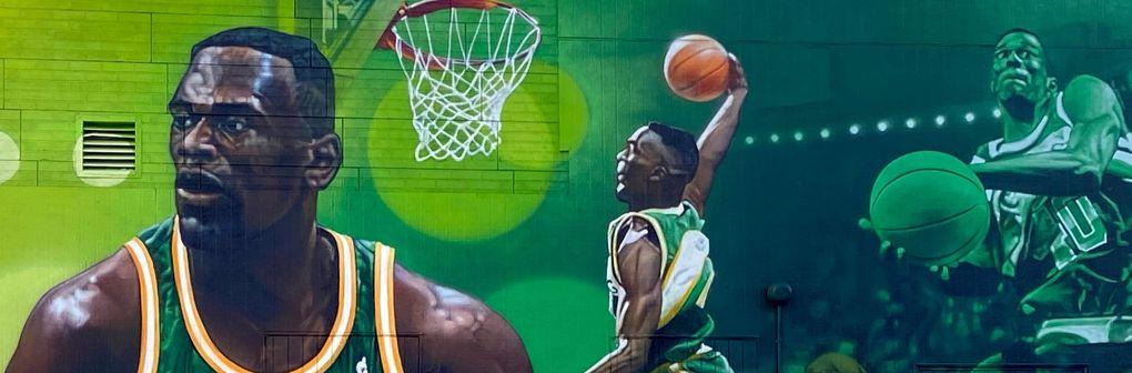 Shawn Kemp's Cannabis Exterior Mural, courtesy of Shawn Kemp's Cannabis  (Courtesy of Shawn Kemp's Cannabis)
