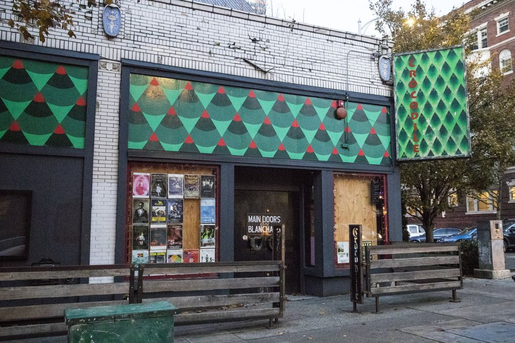 After nearly 30 years in its original Belltown home, the Crocodile is moving to a new location a few blocks away in the old El Gaucho space. The Crocodile is one of Seattle's last remaining grunge-era haunts, the main reason the Croc became a nationally recognized club and tourist destination. (Amanda Snyder / The Seattle Times)