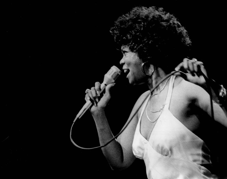 """Seattle jazz great Ernestine Anderson. """"Ernestine Anderson Swings the Penthouse,"""" recorded at the fabled Pioneer Square haunt, is a document of local jazz history. (Guy Kramer)"""