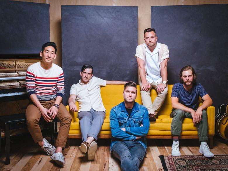 Ivan & Alyosha band members include Tim Kim, Ryan Carbary, Pete Wilson, Tim Wilson and Cole Mauro. (Joe Day)