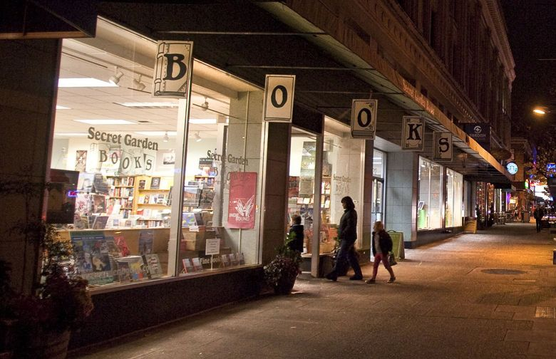 If your holiday shopping involves buying books at Seattle-area independent bookstores like Secret Garden Books in Ballard, there are a number of reasons to start early this year. (Dean Rutz / The Seattle Times)