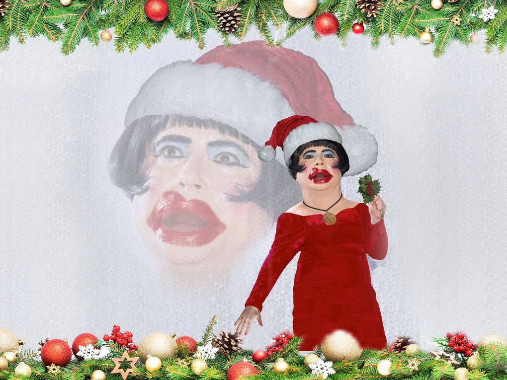 """After a year of strife and anxiety, """"The Dina Martina Christmas Show"""" is a pleasant and bizarre vacation from reality. (David Belisle)"""