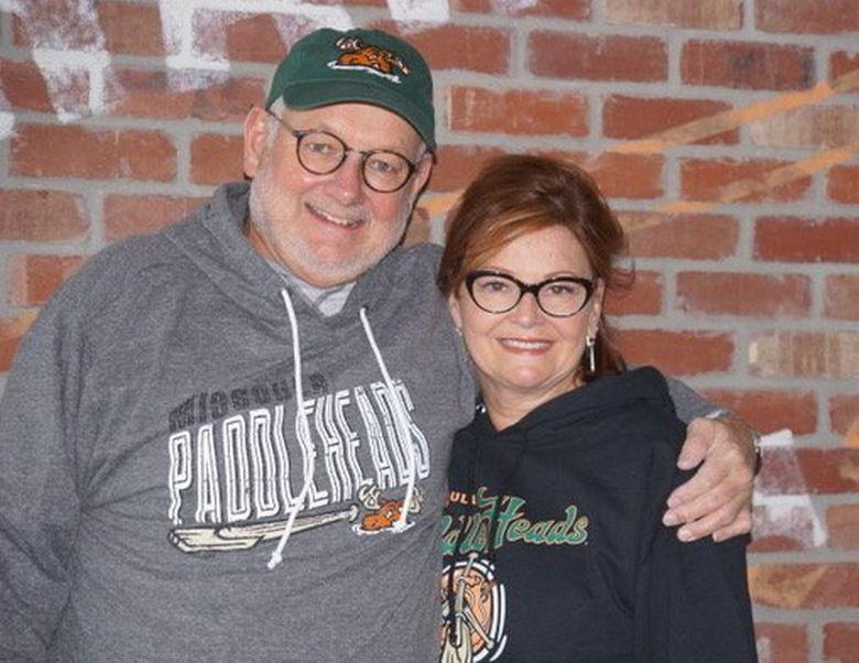 Missoula Paddleheads owners Peter Davis and Susan Crampton Davis.  ( / Courtesy of Peter Davis)