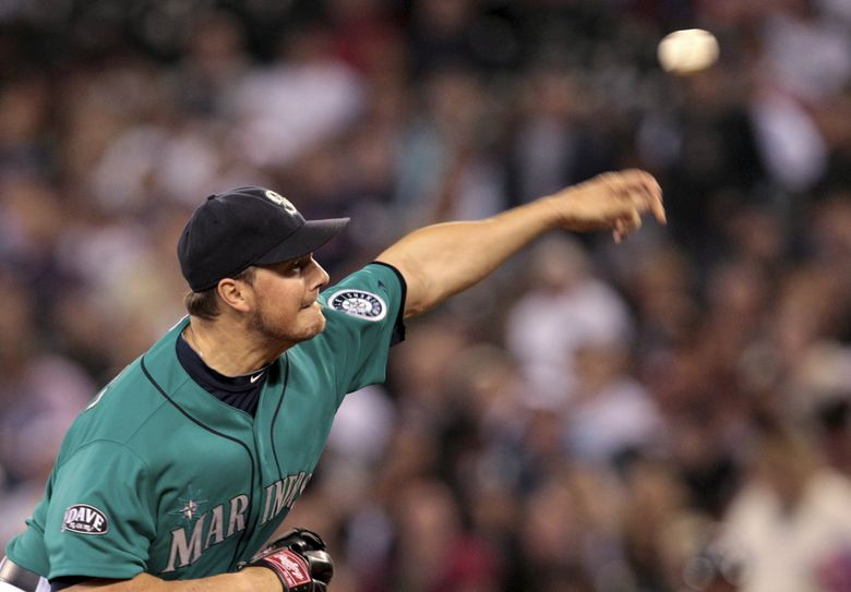 The Mariners ended up regretting the trade for  Erik Bedard, who struggled with Seattle. (Elaine Thompson / AP, 2011)