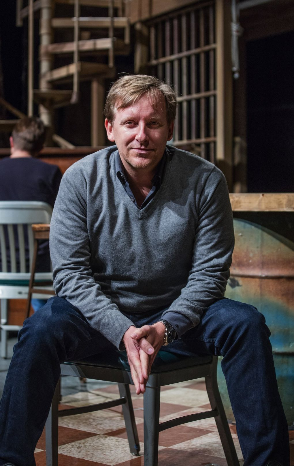 John Langs, artistic director of ACT Theatre, says there are practices from smaller theaters that he'd like to bring to ACT, including a more transparent, group process for choosing plays, and commitments such as never having another all-white design team on any production. (Steve Ringman / The Seattle Times)