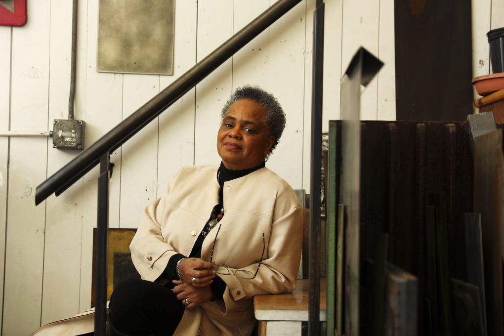 Valerie Curtis-Newton says the work of Seattle Theatre Leaders feels different, more concrete,  than discussions on racism in Seattle theater that have been held in past years. (Ken Lambert / The Seattle Times)