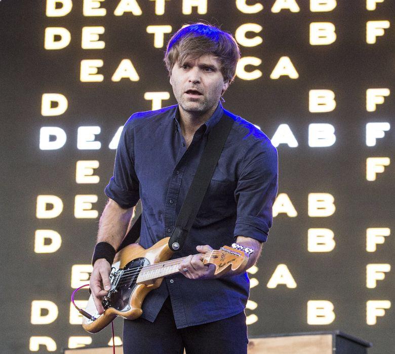 Ben Gibbard of Death Cab for Cutie performs at the Bunbury Music Festival in Cincinnati in 2017. (Amy Harris / Invision / AP)