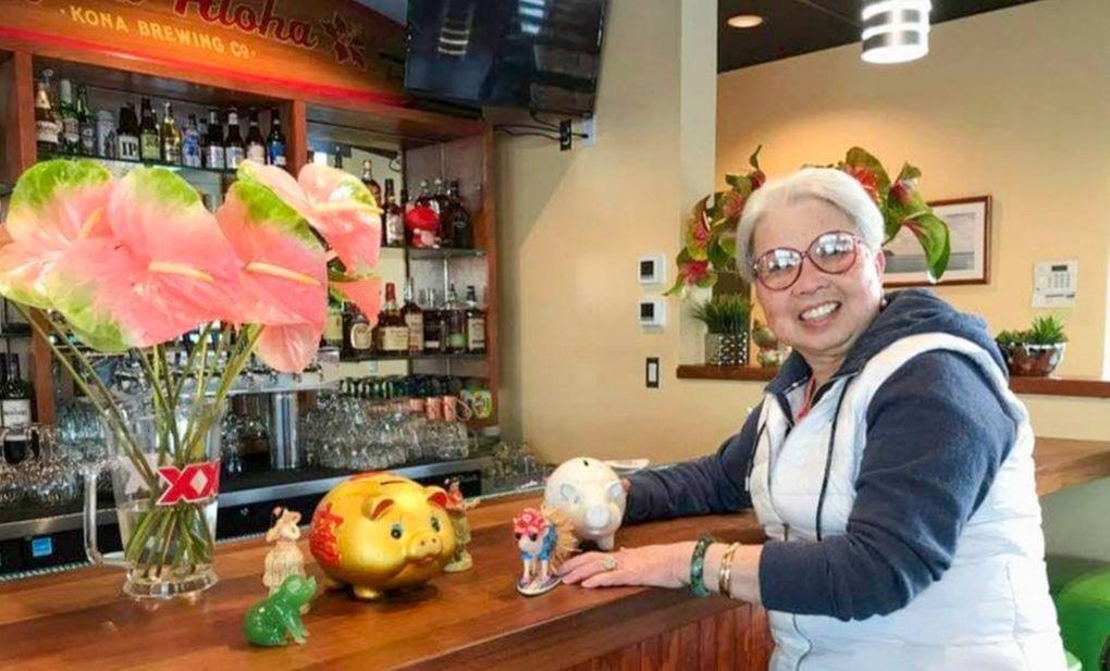 Elizabeth Mar, matriarch of the local Hawaiian restaurant classic Kona Kitchen, died March 25 at age 72. (Courtesy of Angela Okumoto)