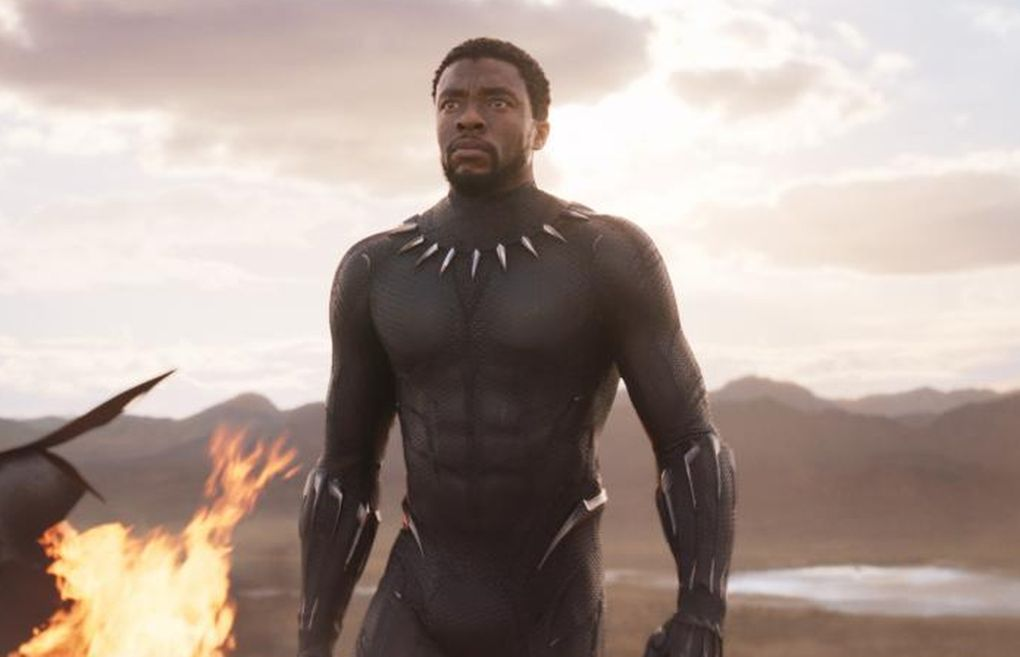 """Chadwick Boseman, who inspired many worldwide in his title role in """"Black Panther"""" and with his portrayals of other icons including Jackie Robinson and James Brown, died Aug. 28 at age 43. (Courtesy of Marvel Studios)"""