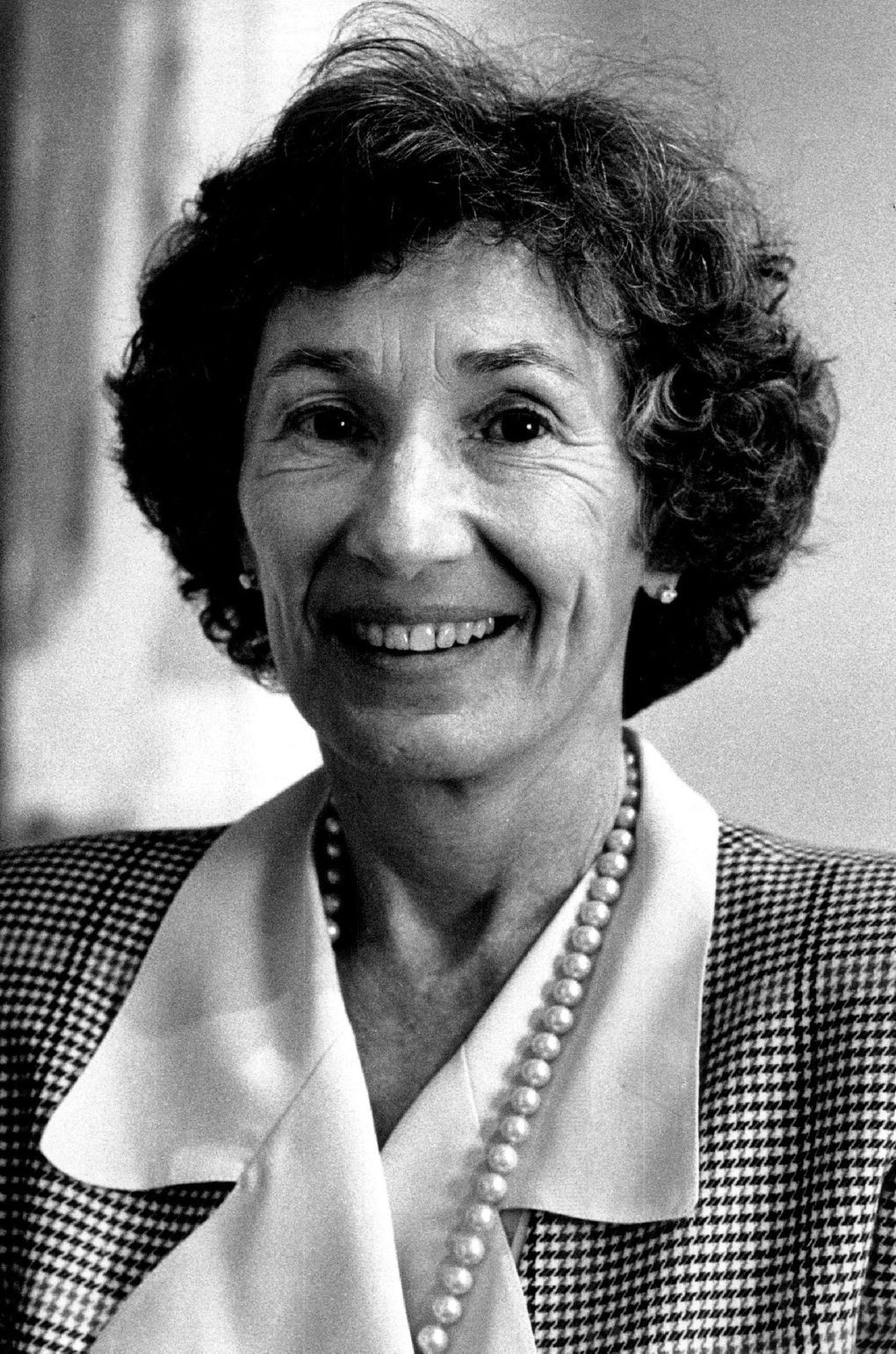 Virginia Wright, who changed Seattle's cultural landscape, died Feb. 18 at age 91. (Benjamin Benschneider / The Seattle Times)