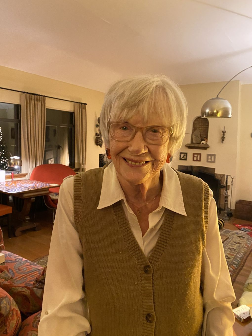 Jean Falls, ACT Theatre co-founder and a driving force behind the charge to save Pike Place Market from a commercial development project, died March 29 at age 94. (Jeannie Falls)