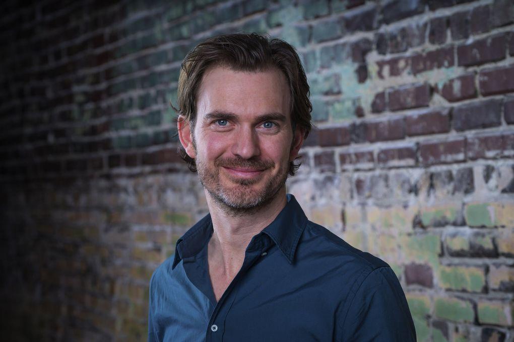 Braden Abraham, Seattle Rep's artistic director (Alan Alabastro)
