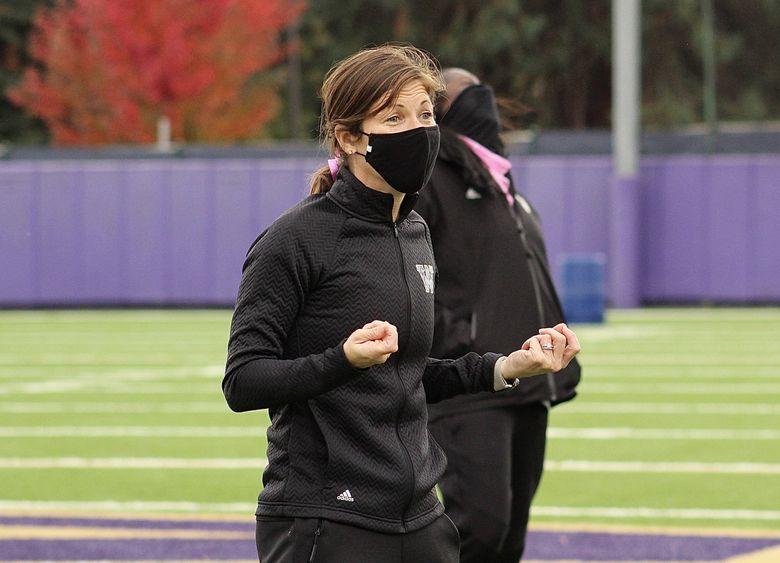 Nicole Van Dyke is looking forward to starting her first season as UW women's soccer coach.  (Courtesy UW athletics / )
