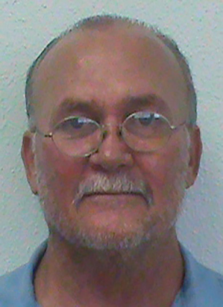This photo provided by the Oklahoma Department of Corrections shows Tommy Ward, who has spent 35 years in prison in a murder case featured in the book and television series 'The Innocent Man'. The Court of Criminal Appeals ruled Thursday, Jan. 7, 2021 that 60-year-old Tommy Ward remain imprisoned while the state appeals the lower court's ruling. (Oklahoma Department of Corrections via AP)