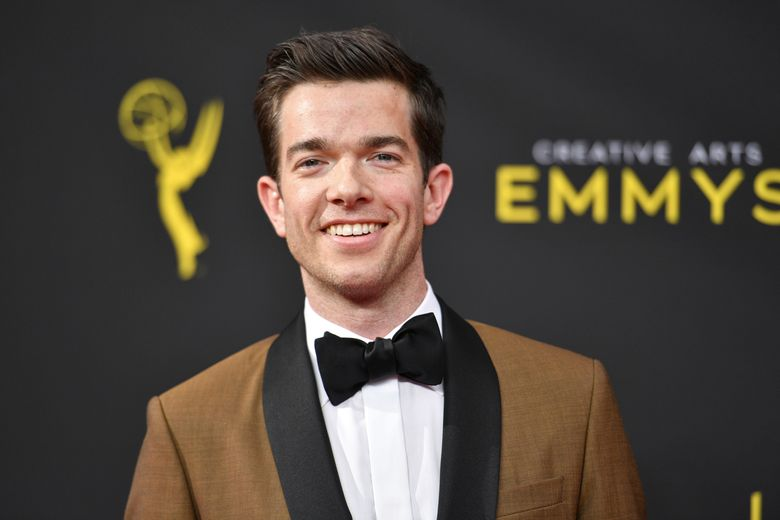 """John Mulaney, shown in 2019, was investigated by  the U.S. Secret Service for  a joke the comedian made on """"Saturday Night Live"""" in February 2020. (Photo by Richard Shotwell/Invision/AP, file)"""