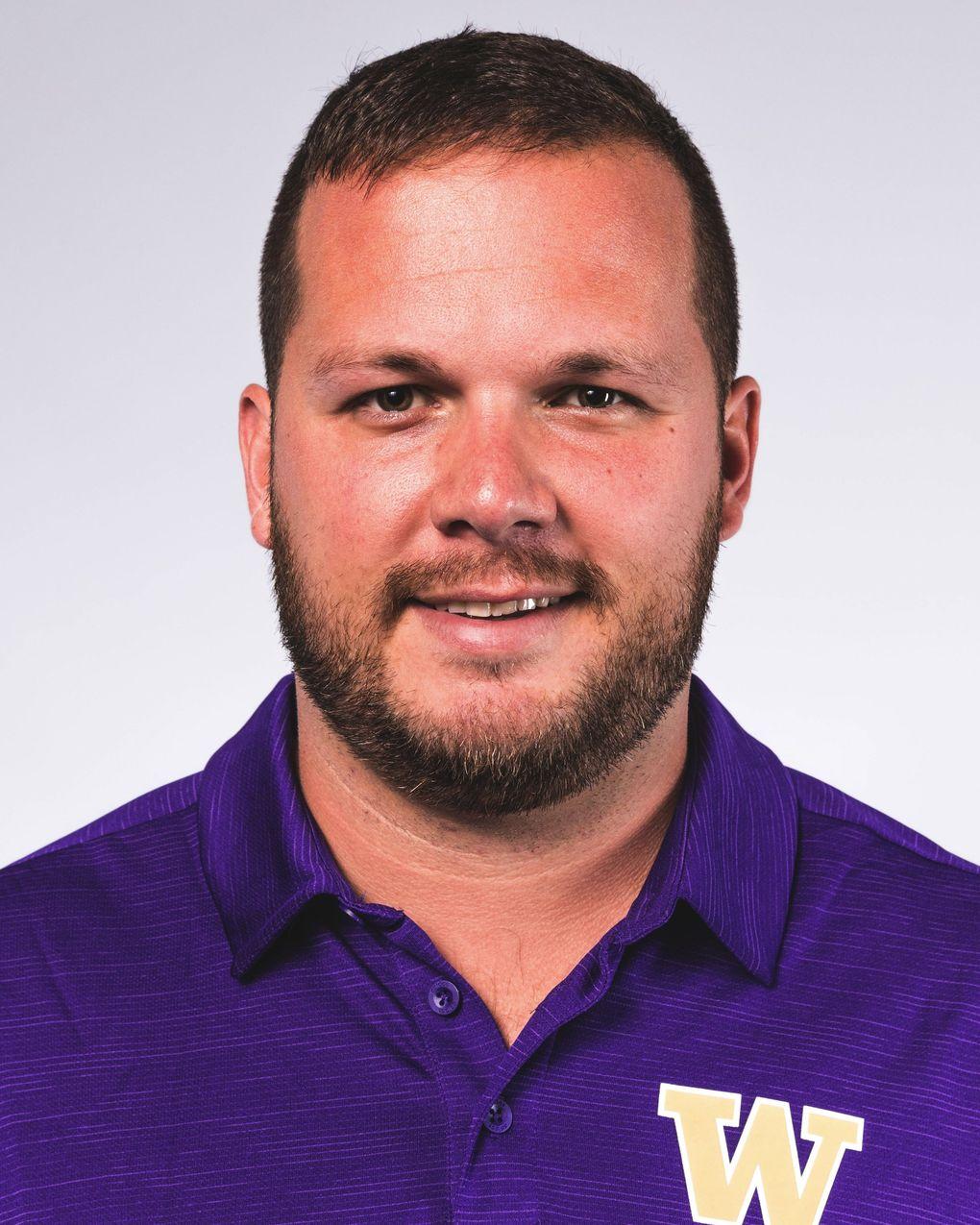 Rip Rowan, new UW Huskies defensive line coach (UW)