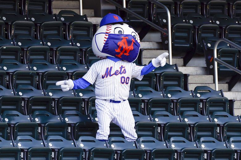 What would you have to pay Mr. Met to get his jersey number? (Adam Hunger / AP)