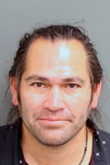 This photo provided by the Orange County, Fla. Corrections Department in Orlando, Fla., shows Johnny Damon.  Former Major League Baseball player Johnny Damon was arrested Friday, Feb. 19, 2021, in central Florida on a charge of resisting an officer after he was pulled over for suspicion of driving under the influence, according to court and jail records. Damon was booked into the Orange County Jail early Friday after he was arrested for resisting an officer without violence in Windermere, Florida, a wealthy suburb of Orlando popular with professional athletes. The charge is a first-degree misdemeanor. (Orange County, Florida Department of Corrections via AP)  Jail records show that Damon's wife, Michelle Mangan-Damon, also was arrested.  Damon was an outfielder for several teams in the 1990s and 2000s, including the Boston Red Sox and New York Yankees. He helped the Red Sox in 2004 and the Yankees in 2009 win World Series titles.   He grew up in Orlando.
