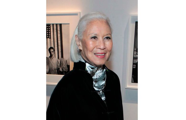 Genevieve Young, a publishing editor and wife of photographer and filmmaker Gordon Parks. Young was 89 when she died at her home in Manhattan on Feb. 18 after a long battle with cancer. She was a publishing editor with a long and diverse legacy. (Gordon Parks Foundation via AP)