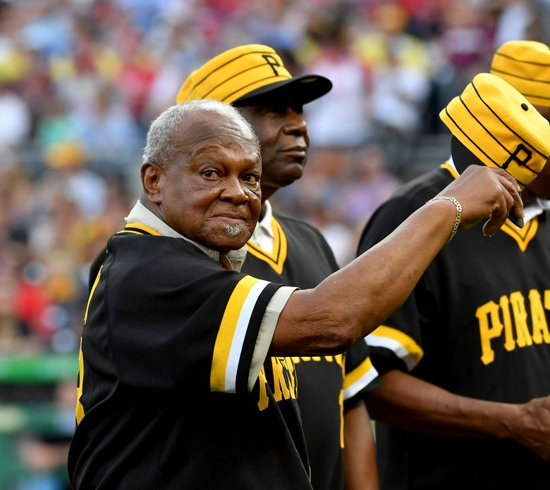 """Former Pittsburgh Pirates player Grant Jackson acknowledges the crowd during the 40th anniversary celebration of the 1979 World Series team at PNC Park in Pittsburgh, in this Saturday, July 20, 2019, photo. Grant Jackson, the winning pitcher in Game 7 of the 1979 World Series for the """"We Are Family"""" Pittsburgh Pirates and a reliable left-hander for 18 seasons in the majors, died Tuesday, Feb. 2, 2021, from COVID-19 complications. He was 78. The Pirates said Jackson died at Canonsburg Hospital in Pennsylvania.(Matt Freed/Pittsburgh Post-Gazette via AP)"""