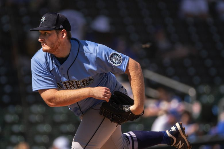 Ljay Newsome gets the start for Seattle Wednesday against the Cubs.  The Seattle Mariners and the Chicago Cubs played to an 8-8 tie in spring training baseball Wednesday, March 3, 2021, at Sloan Park in Mesa, Arizona.
